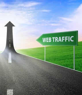 increase website traffic to ecommerce site
