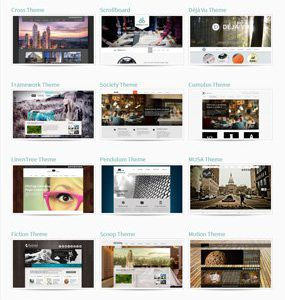 Weebly templates design