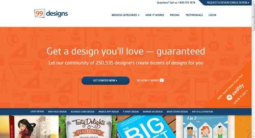 99designs crowdsourcing