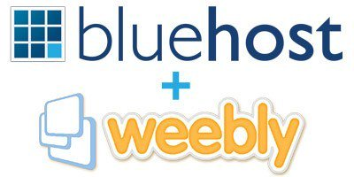 Bluehost Weebly