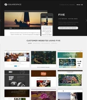 squarespace templates review how their designs can help you. Black Bedroom Furniture Sets. Home Design Ideas