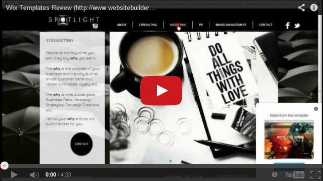 Wix Templates Review How To Make Your Website Look Good