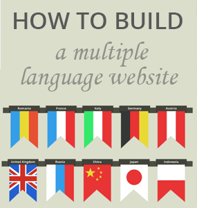 how to build a multi-language website