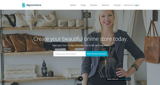 Cómo Crear Una Tienda Online - bigcommerce