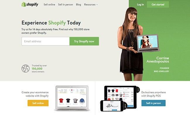 Cómo Crear Una Tienda Online - shopify