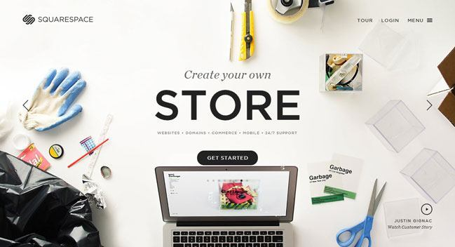 Cómo Crear Una Tienda Online - squarespace