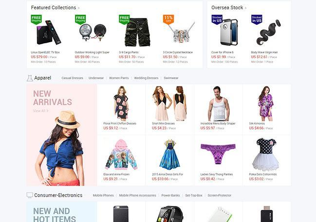 What to Sell Online - Alibaba