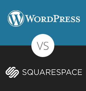 Squarespace vs WordPress Chart
