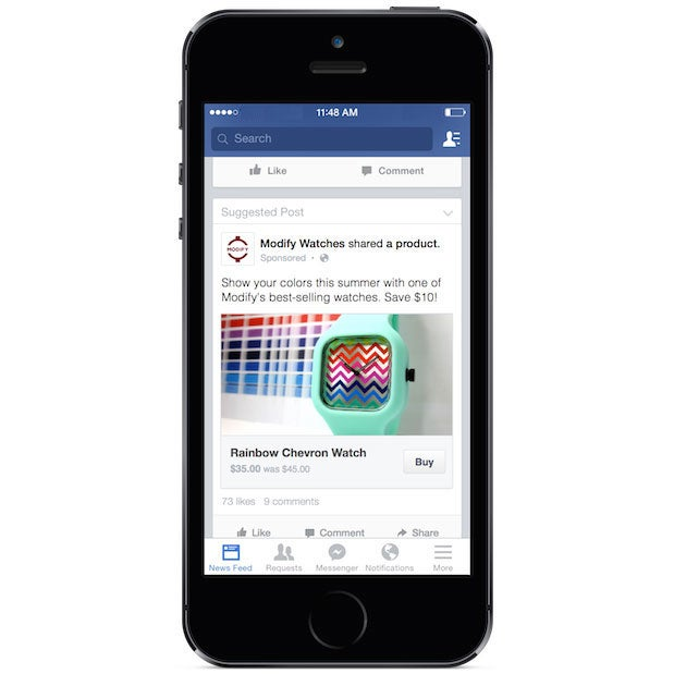 How to sell on facebook with buy button