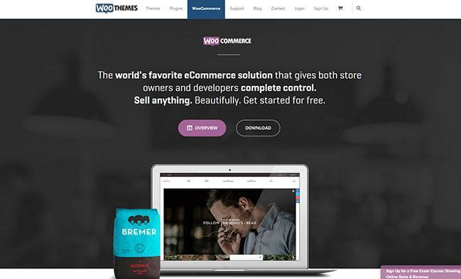 Shopify Alternatives - WooCommerce