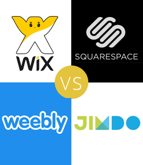 Wix vs Weebly vs Squarespace vs Jimdo - Top 3 Pros / Cons