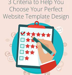 Website template design - logo