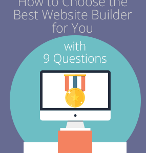 choose best website builder