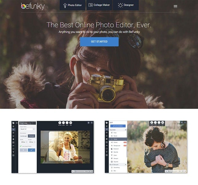 free online photo editor - befunky