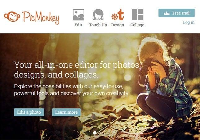 free online photo editor - picmonkey