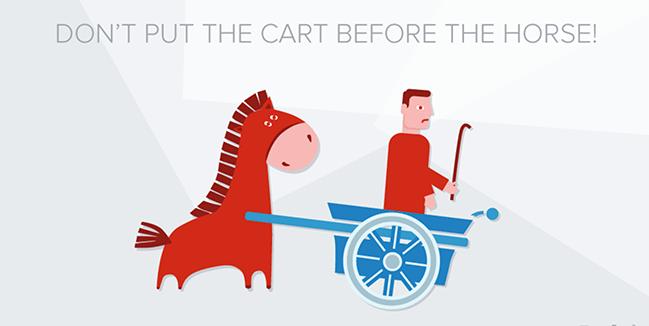website Design software - cart horse