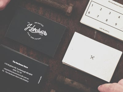 font style design for coffee shop
