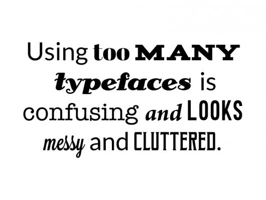 typography mistakes