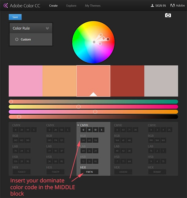 how to choose color for websites