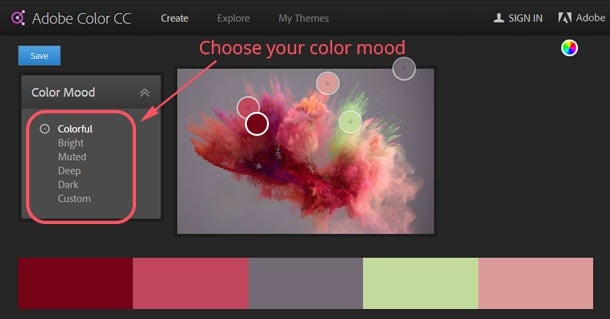 adobe color cc 6