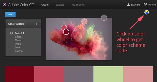 adobe color cc 8