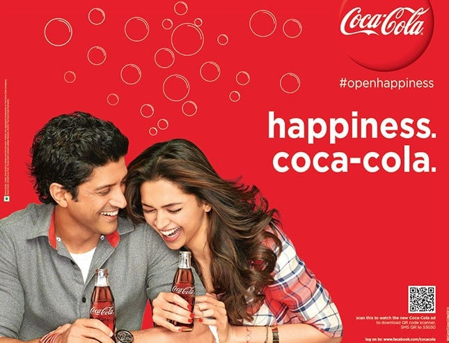 website color picking - coca cola