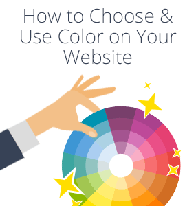 how to choose color for website