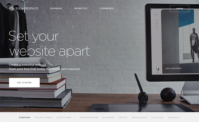 Why not Hire Website designer - Squarespace