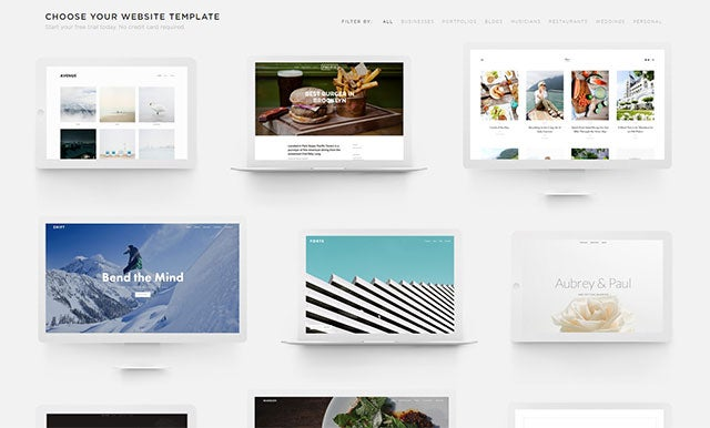 Wix vs Squarespace - SS Templates