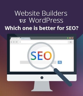 Website Builder SEO vs WordPress SEO