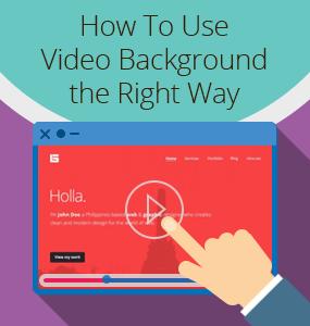 video background for websites