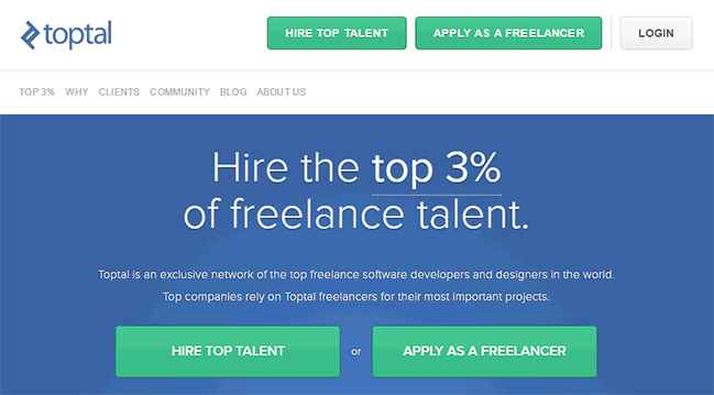 where to find freelance designers toptal