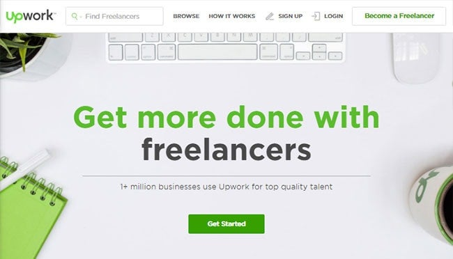 where to find freelance designers UpWork Elance
