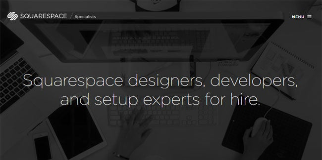 where to find freelance designers squarespace experts