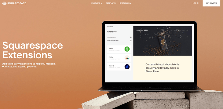 squarespace extensions