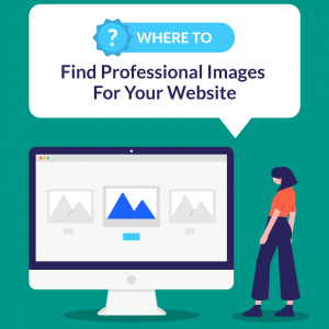 where to find professional images for your website