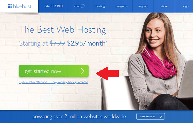 best small business web hosting - bluehost