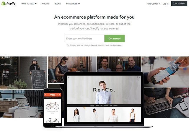 miglior software di e-commerce builder Shopify
