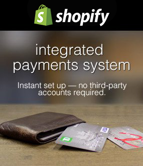 Shopify Payments - No More Fumbling with Payment Gateways