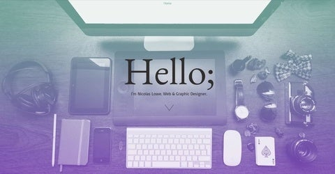 portfolio website template for designer
