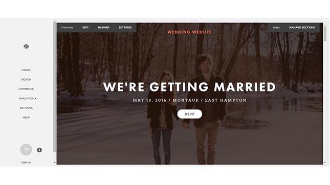 ss best wedding website builder