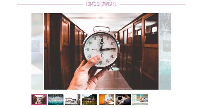 godaddy portfolio template best website builder