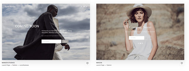 squarespace online clothing store templates