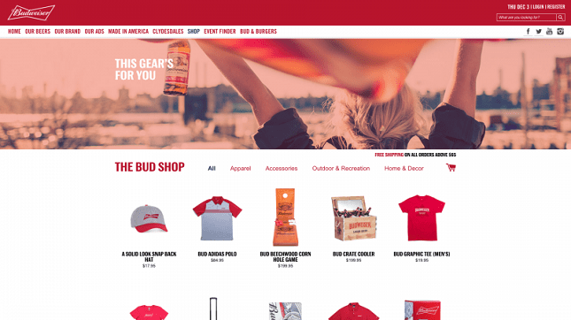 Shopify Plus Example Stores Businesses