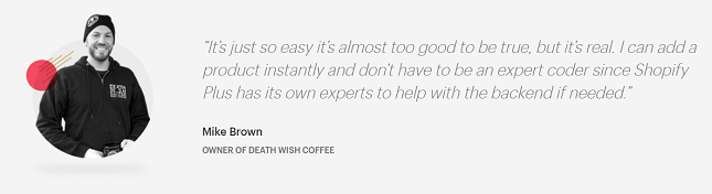 Shopify Plus Death Wish Coffee