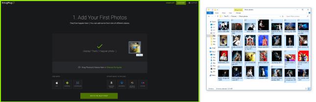 smugmug photos import