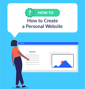 How to Create a Personal Website WBE featured image