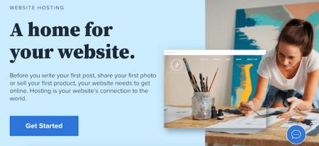 Bluehost homepage screenshot