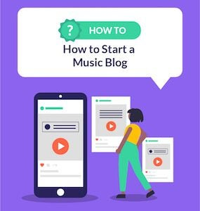 How to Start a Music Blog featured image