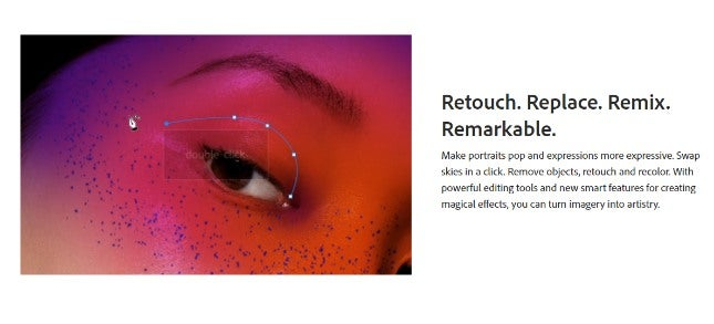 Best graphic design software - photoshop